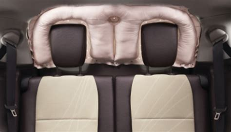 side curtain airbags toyota introduces rear window protection airbag