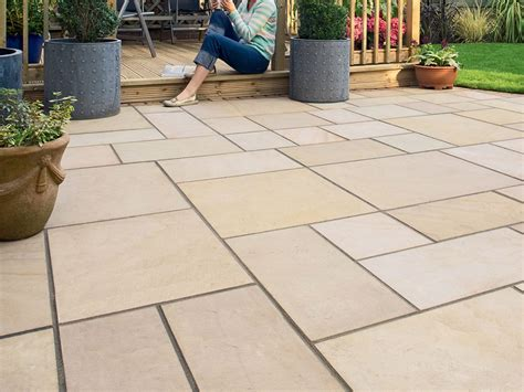 sawn sandstone paving mint natural stone paving