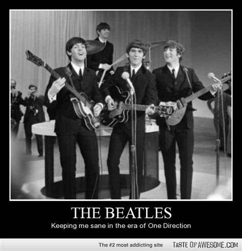 Beatles Memes - the beatles keeping me sane through all the one direction