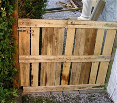diy gate 12 diy wooden pallet gate design ideas pallets designs