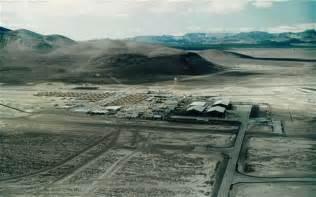 Rare view of area 51 from a light aircraft photo nevada aerospace
