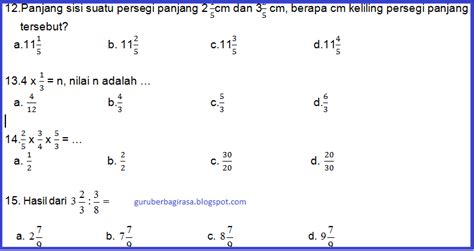 Matematika Jilid 4b Ktsp 2006 soal uts genap matematika kelas 5 semester 2 ktsp kurikulum 2006 kumpulan soal ktsp