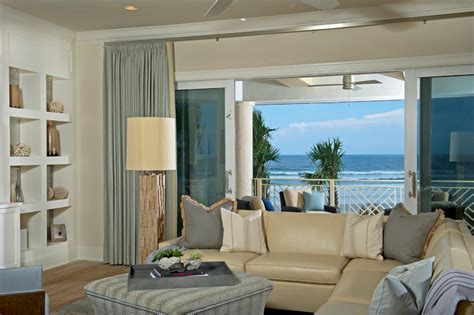 cream leather sofa Living Room Beach with beige leather