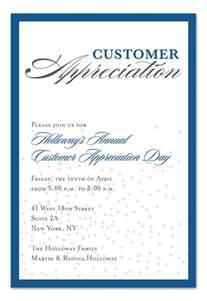 volunteer customer appreciation invitation consultants