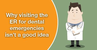 Can You Go To Emergency Room For Tooth by Dental Emergencies And The Hospital To Go Or Not To Go