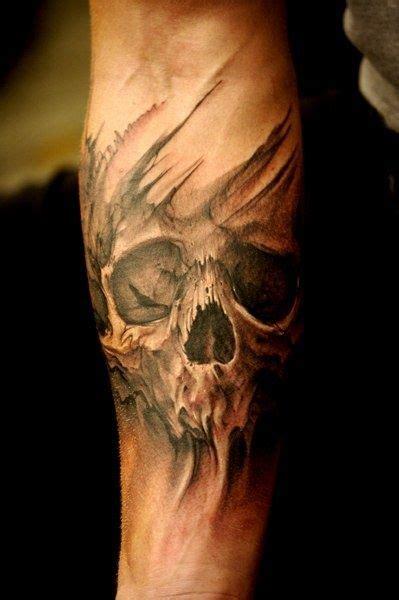 skull tattoos on forearm 30 tattoos