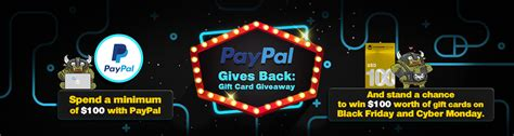Paypal Gift Card Customer Service - paypal gives back gift card giveaway 2017 offgamers blog