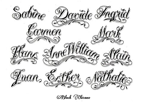 chicano lettering styles tattoo fonts generator chicano