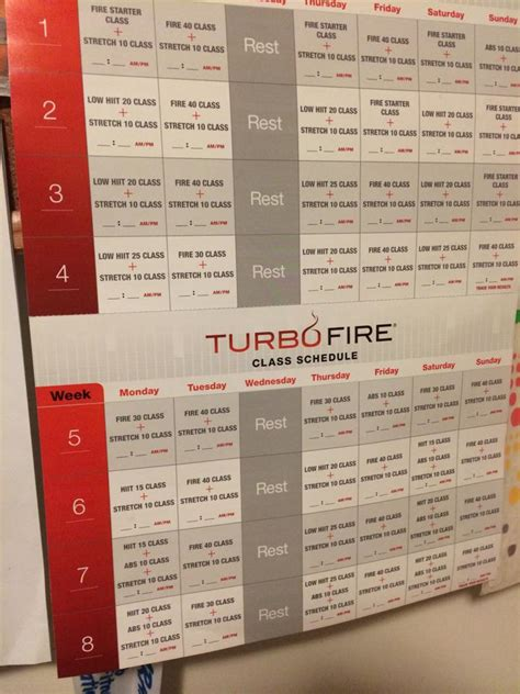 turbo metabolism 8 weeks to a new you preventing and reversing diabetes obesity disease and other metabolic diseases by treating the causes books turbofire schedule new calendar template site