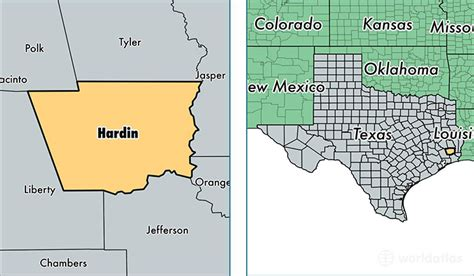 hardin county texas map hardin county texas map of hardin county tx where is hardin county