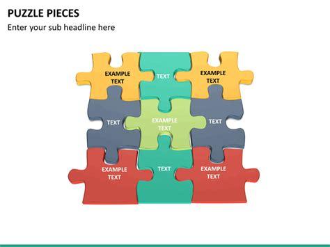 Puzzle Pieces Powerpoint Template Sketchbubble Puzzle Pieces For Powerpoint