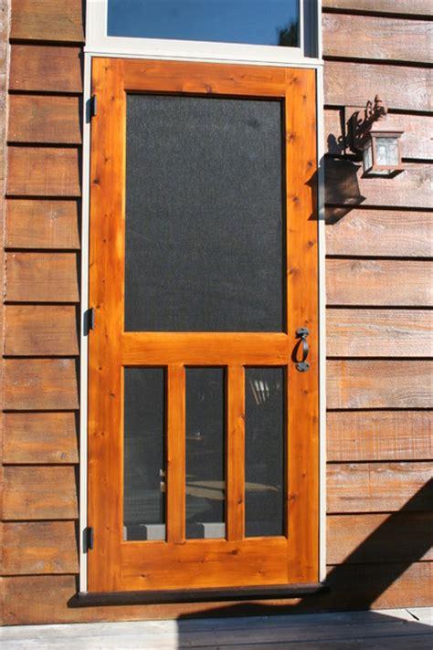 Prime Line Kitchens by Wood Screen Door Traditional Screen Doors