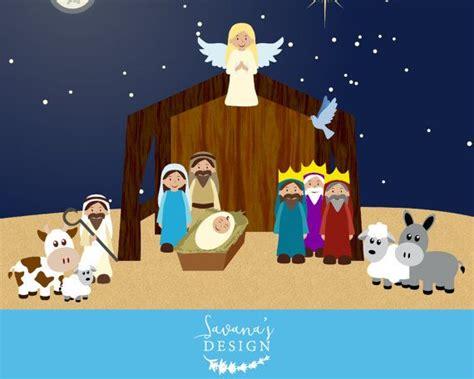 unique nativity clipart ideas  pinterest nativity