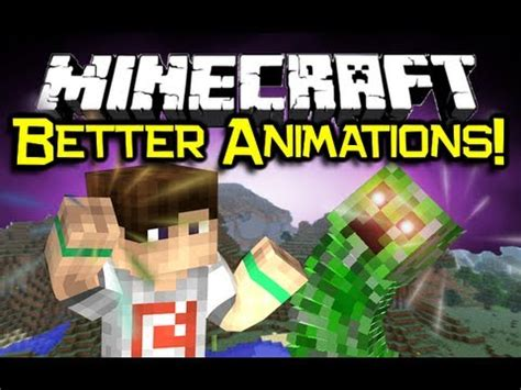 minecraft better animations mod minecraft better animations mod spotlight make mobs