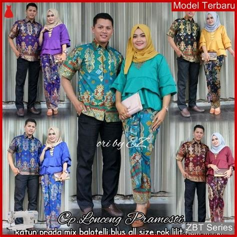 zbt kebaya batik couple lonceng pramesti grosiran