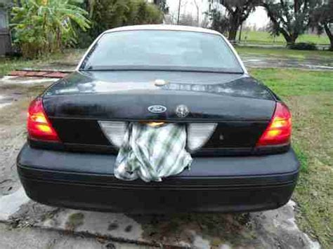 99 ford crown buy used 99 p71 ford crown vic black white 93 000