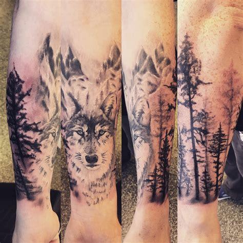 wolf forest tattoo portfolio portsmouth ink studio tattoos
