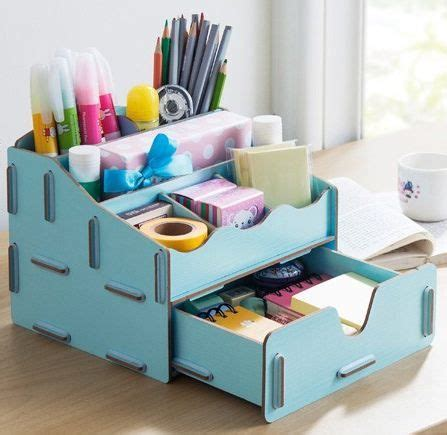 diy decorations with office supplies desktop organizer from quot creating the home office
