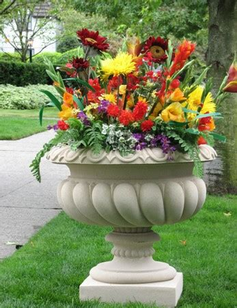 Flower Planters by Yard Planters Show Your Creativity Statue Tree
