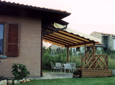 tettoie in legno pergole e coperture per esterno in legno lamellare tendasol