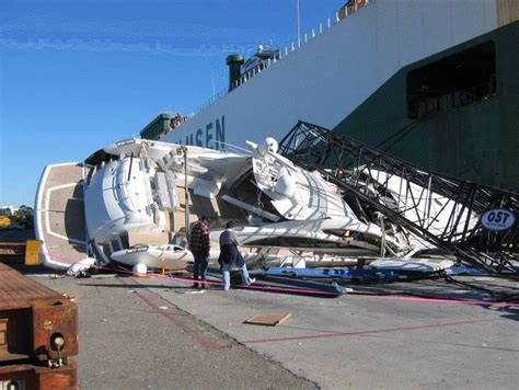 yacht boat rides near me how not to launch your 4 and a half million dollar yacht
