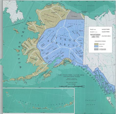 american tribes alaska map map of alaska early american tribes