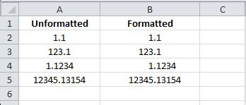 excel custom formatting, 0, # and ? characters vba and