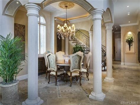 Formal Dining Room Chandelier Formal Dining Room Chandelier Columns Port Royal In Naples Fl Naples Florida