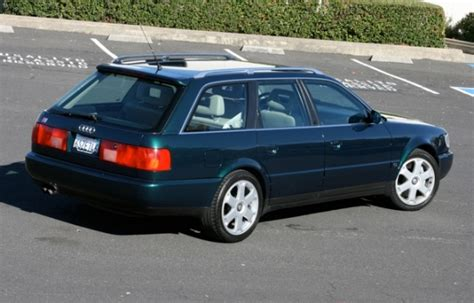 bat exclusive 2bennett tuned 1995 audi s6 avant bring a trailer