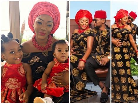 Chacha Eke & husband share more cute family photos as they