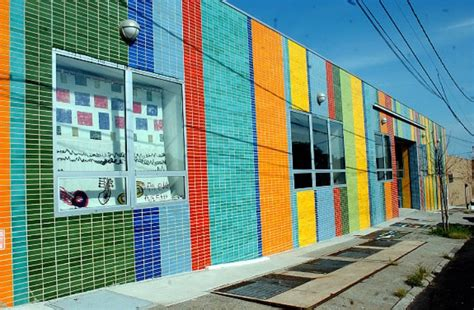 bronx studio school old factory converted into ultra colorful bronx charter