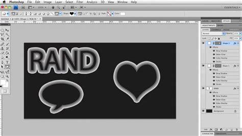 tutorial photoshop nederlands tekst met meerdere randen photoshop tutorial nl youtube