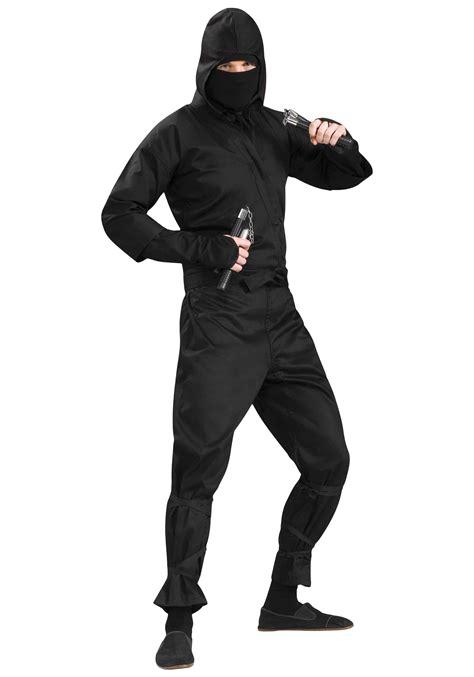 ninja costume adults halloween deluxe ninja costume