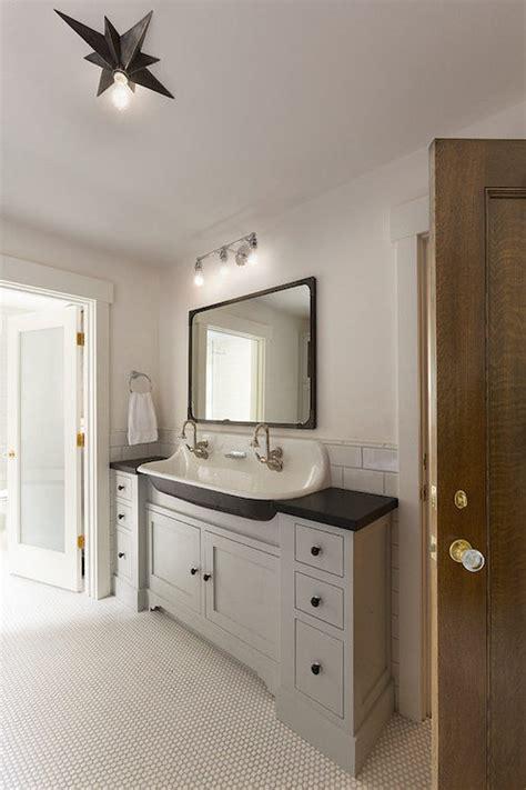 industrial metal bathroom vanity design ideas