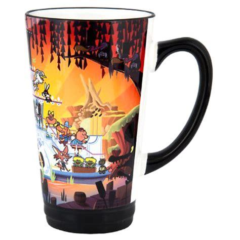 disney latte mug splash mountain  christopher lee
