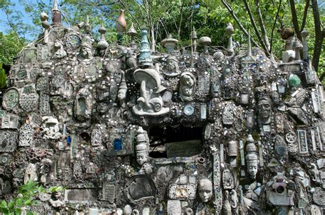 Howard Finster Paradise Gardens by Other Visionary Environments Philadelphia S Magic