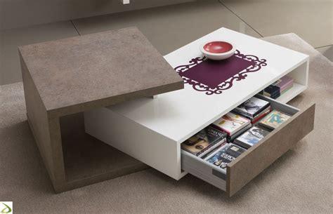 ladari per salotto moderno tavolino moderno con cassetto yari arredo design