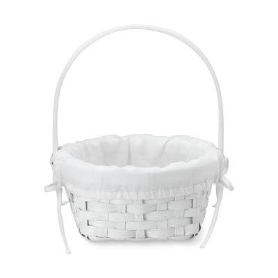 white with baskets white rattan easter basket with liner williams sonoma