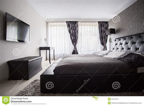 chambre a coucher couleur chambre 224 coucher de luxe dans la couleur grise photo