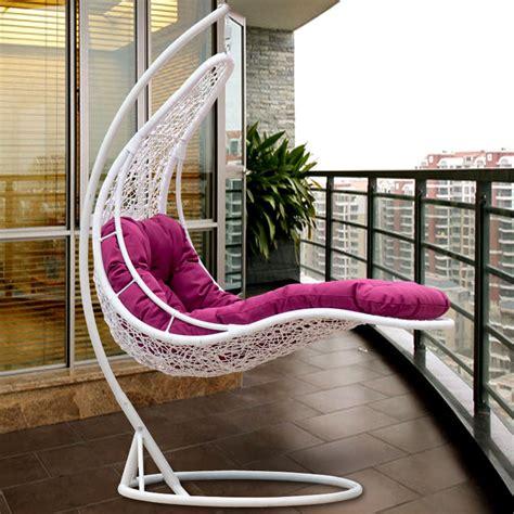 Kursi Santai Rotan Rattan Wicker Swing Chair Outdoor Wicker Swing Chair