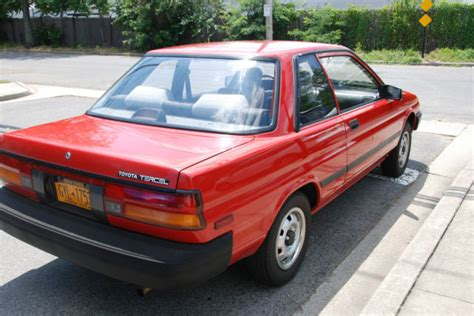 Toyota 2 Door Cars by 1989 Toyota Tercel Dx Sedan 2 Door 1 5l For Sale In