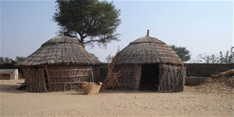 tradisionele xhosa hutte desert lifestyle