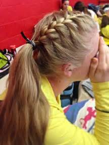 Softball Hairstyles by Hair Sporty Hair Pony Tails