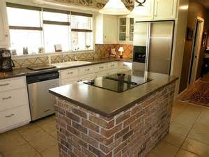 brick kitchens 1000 images about kitchen brick island on pinterest rustic feel rustic kitchen island and