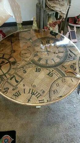 decoupage dining table 25 best ideas about decoupage table on modge