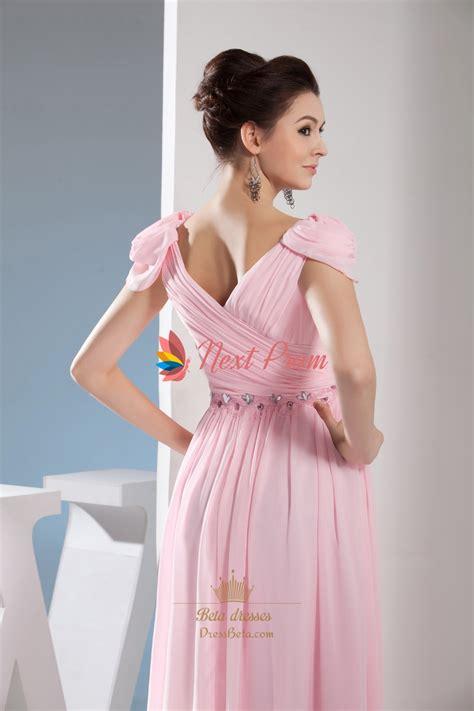 light pink long dress light pale pink off the shoulder long chiffon bridesmaid