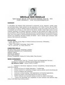 cover letter for software test engineer the most awesome software test engineer resume resume