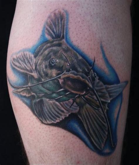 catfish tattoo human canvas custom tattoos page 1
