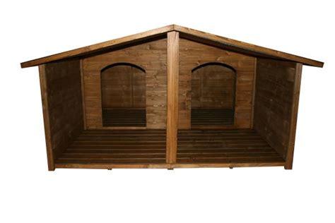 laras para porches casetas de madera para perro modelo lara doble iii porche