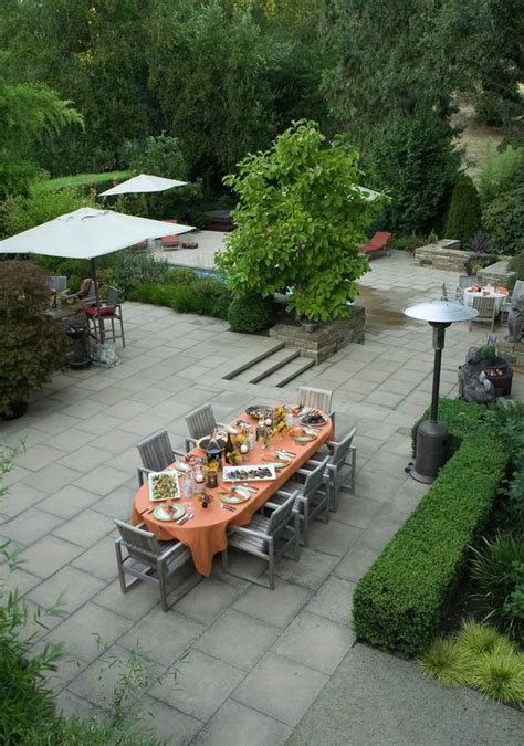10 Paver Patios That Add Dimension And Flair To The Yard Patio With Pavers